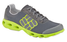 Columbia Men's Drainmaker castlerock/lime green